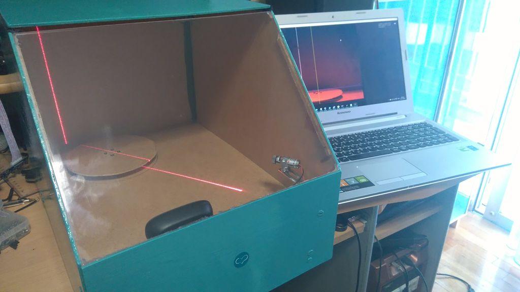 Как самому сделать 3d сканер