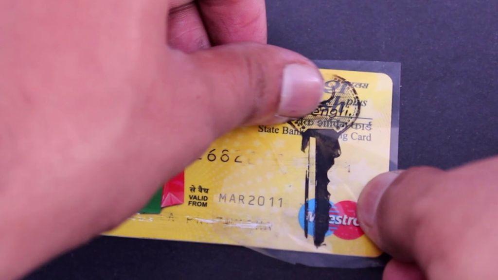 Как сделать карточку ключ 685