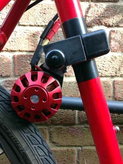 Как сделать привод на велосипед
