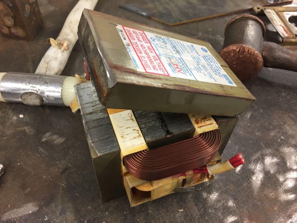 Как своими руками сделать трансформатор для точечной сварки
