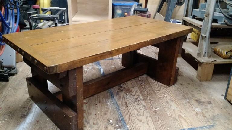 Большой стол своими руками с фото 562