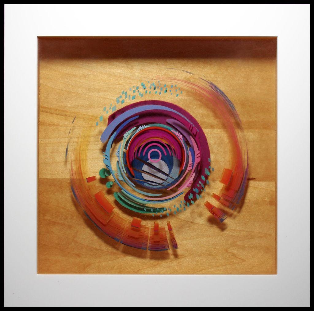 Как сделать 3D-картину из эпоксидной смолы и акриловой краски