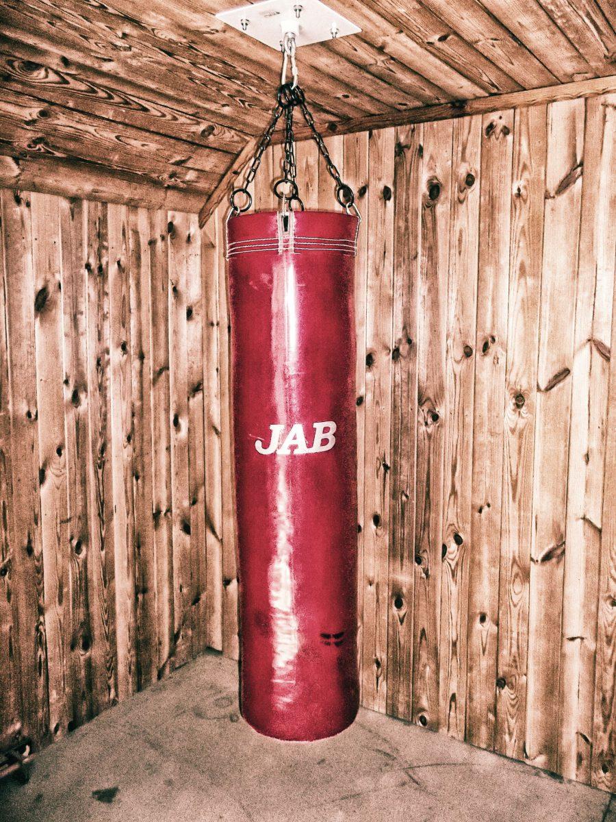 Боксерская груша сделать своими руками