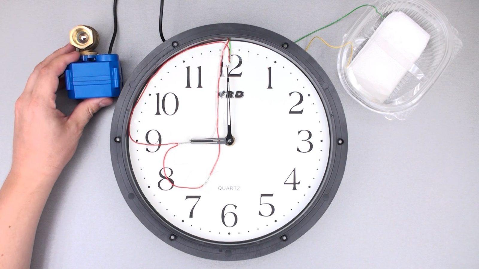 Таймер из часов с будильником своими руками