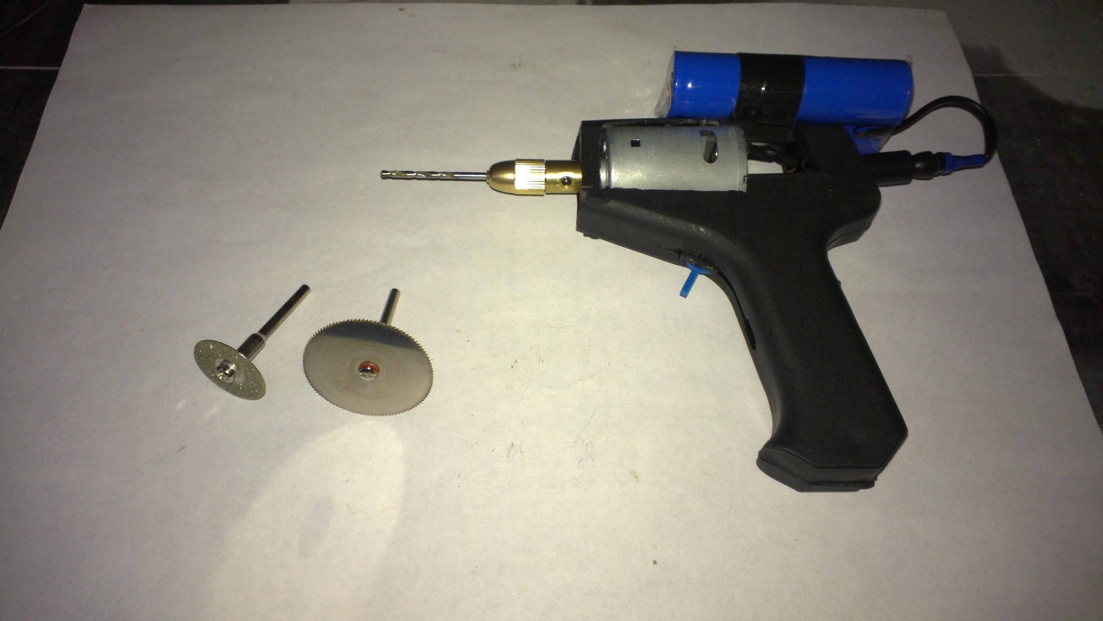 Самодельный электроинструмент своими руками
