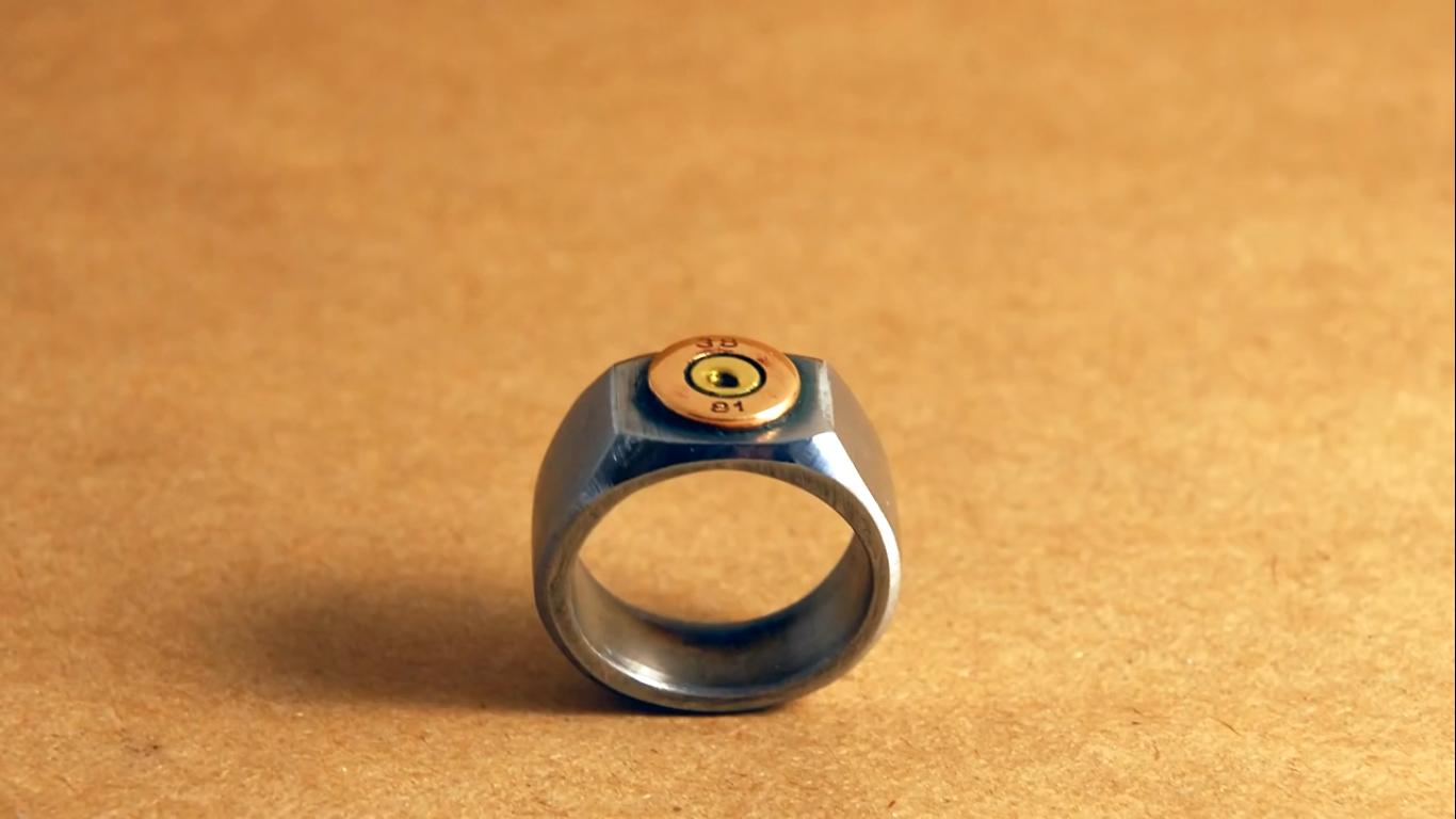 Кольца своими руками из гайки