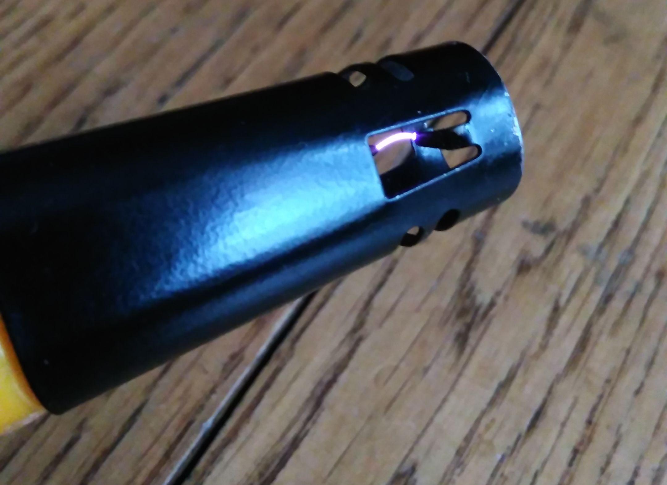 Электро-дуговая зажигалка для газа своими руками Поделки