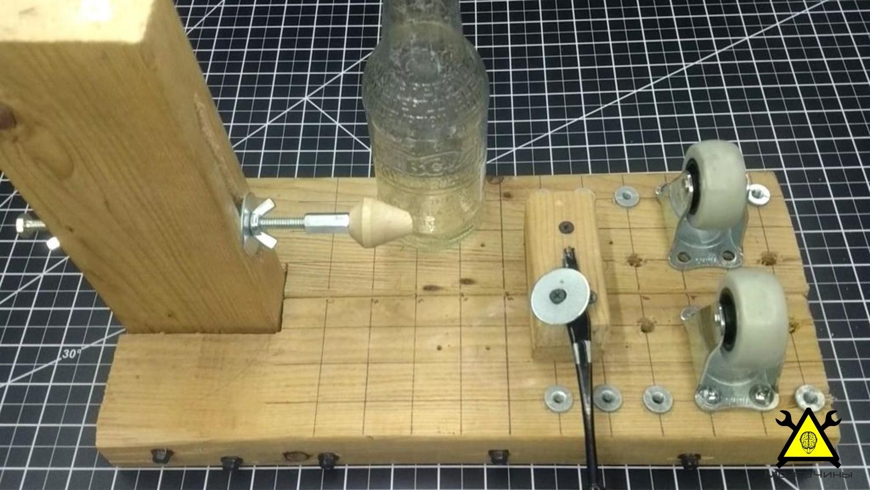 Станок для резки стеклянных бутылок своими руками - МозгоЧины