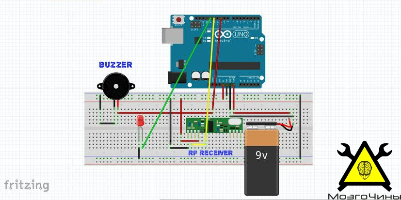 Light Sensor using Arduino Rookie Electronics