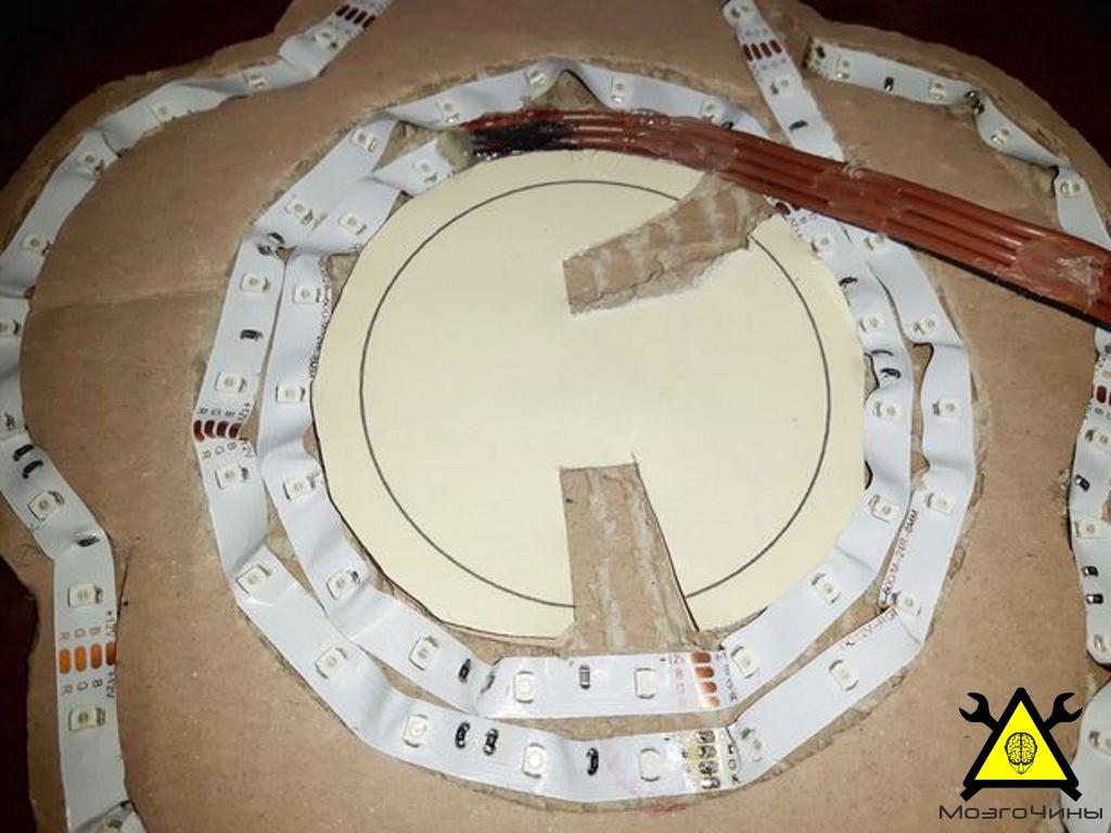 Сделать светильник из светодиодной ленты своими руками 30