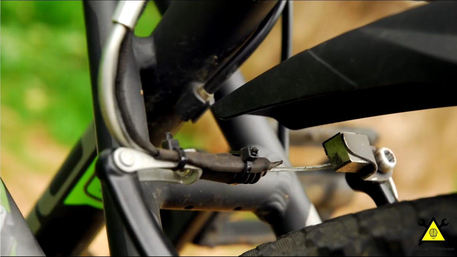 Стоп-сигнал для велосипеда (покупной и изготовленный) 75