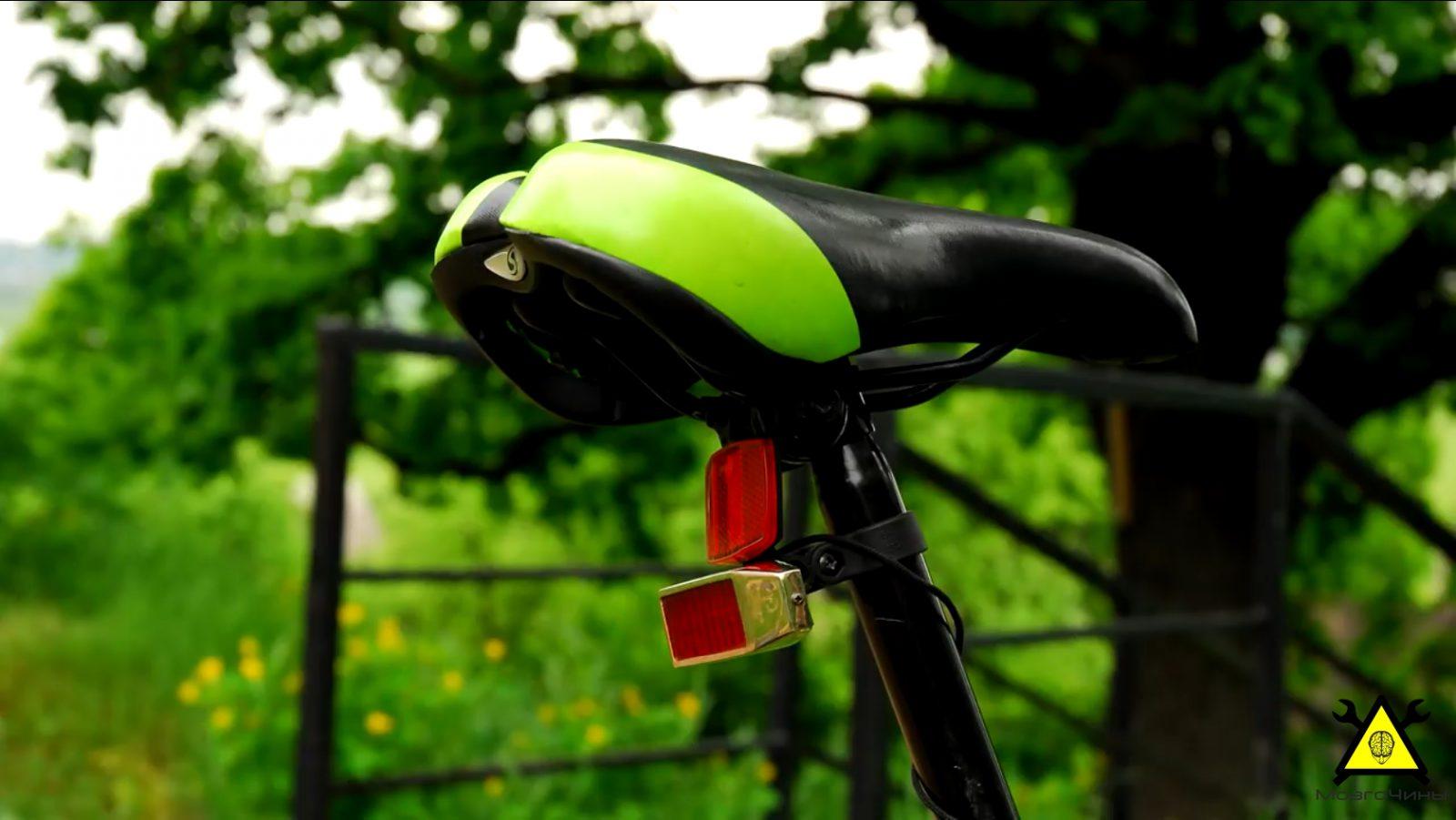 Стоп-сигнал для велосипеда (покупной и изготовленный) 19
