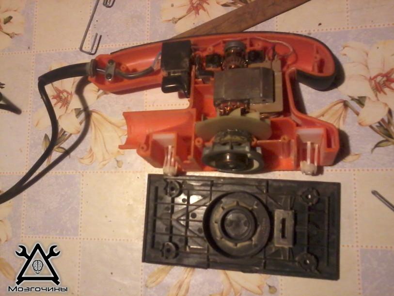Вибрационная шлифмашина ремонт своими руками 55