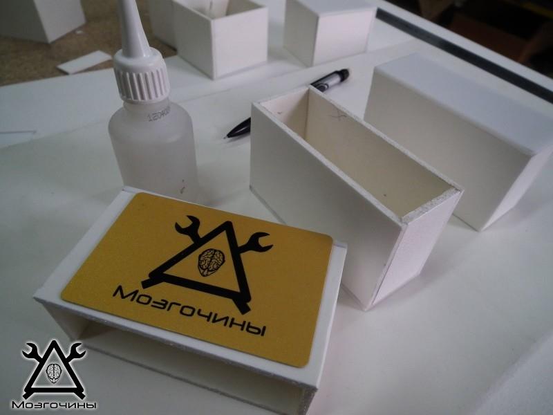 Как сделать красивый светодиодный стенд своими руками на www.mozgochiny.ru 007