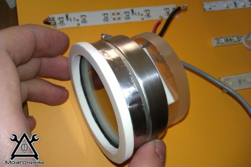 Как сделать красивый светодиодный стенд своими руками на www.mozgochiny.ru 041
