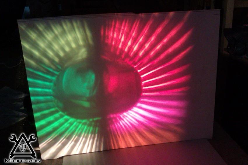 Сделать лазерный проектор своими руками 48