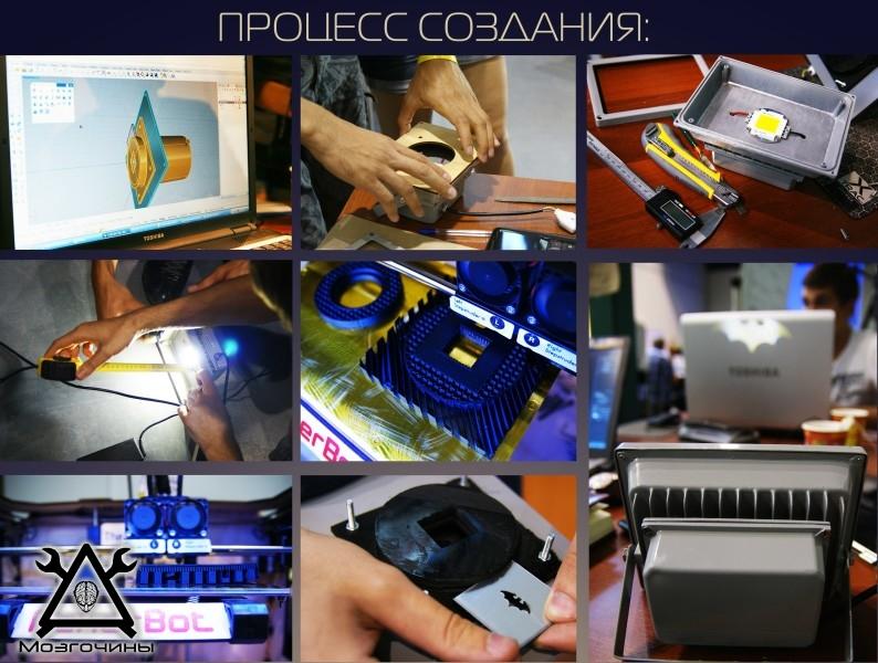 Логопроектор светодиодный своими руками www.mozgochiny.ru-02