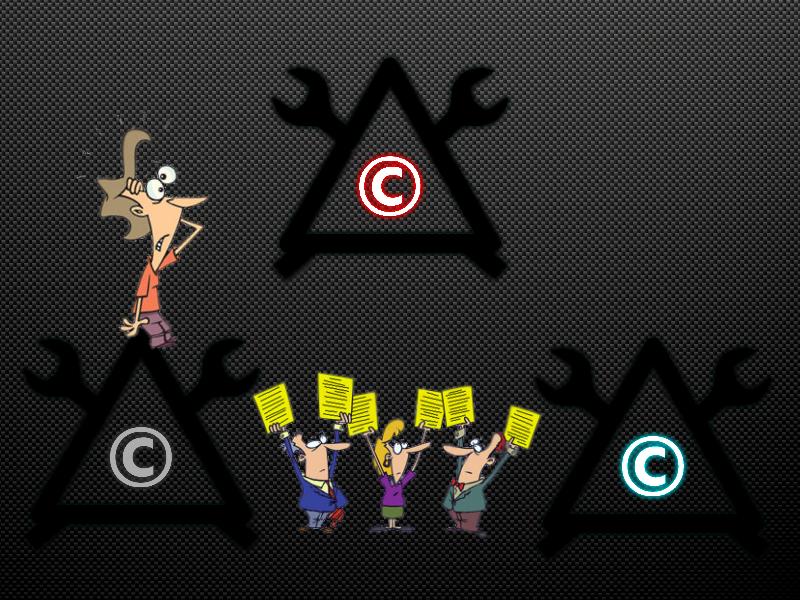 За и против авторского права и патентов!