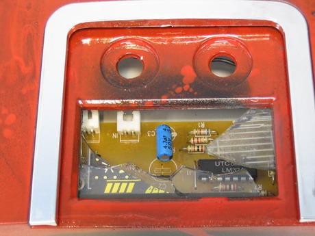 Сломанный дисплей в сабвуфере