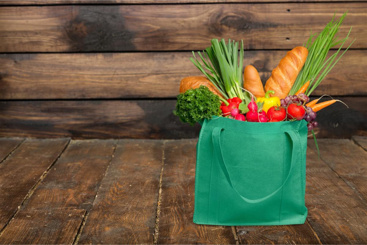 сумка своими руками с продуктами