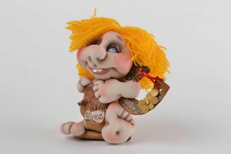 Куклы из колготок: мастер-класс для начинающих