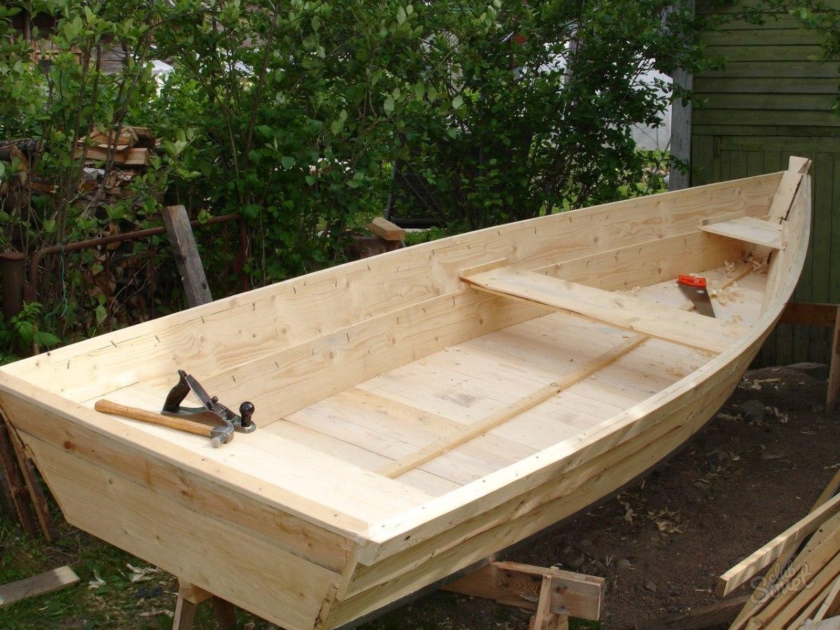 Деревянная лодка своими руками в домашних условиях