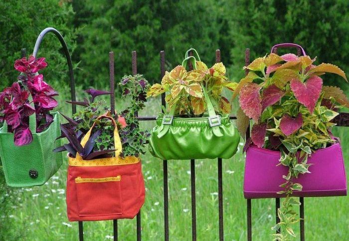 цветник в сумке