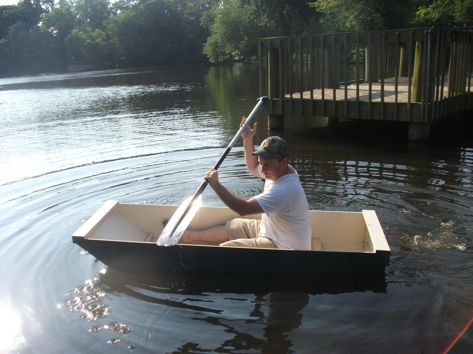 Лодка со своими руками